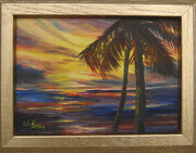 Sunset Palms  #1
